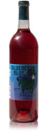BLUEBERRY BLUE SEMI SWEET WINE