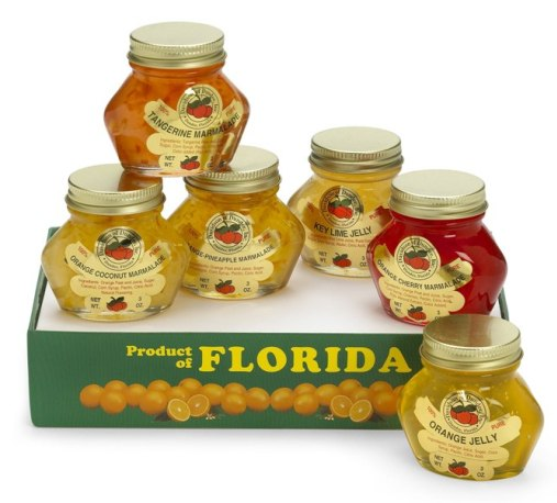 FLORIDA JELLIES AND MARMALADE SAMPLER