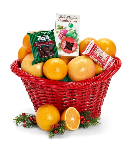 Seasons Greeting Basket