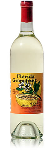 Florida Pink Grapefruit Wine