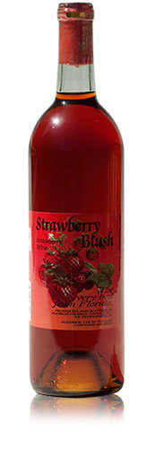 Strawberry Blush Wine